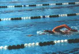 Swimming is good for you