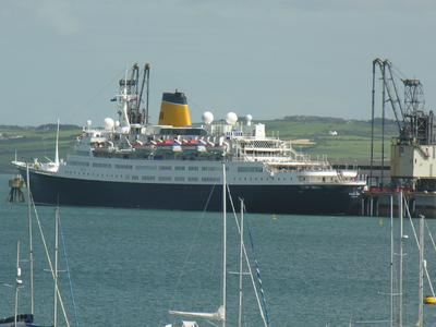Holyhead Cruise Ship