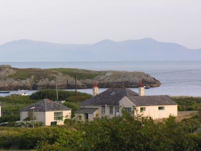 Snowdonia from Rhoscolyn