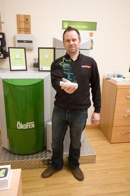 Lee Maher, Director, Menai Heating Ltd, Anglesey