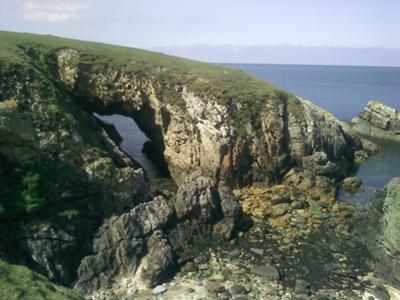 Island Coastal Scene