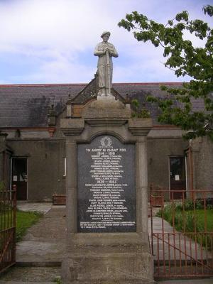 Llanrhyddlad War Memorial