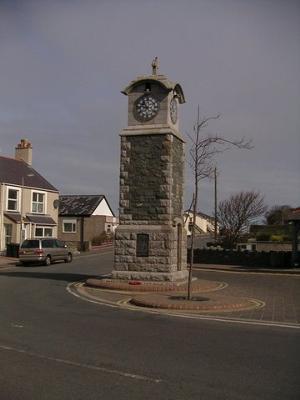Rhosneigr Clock Tower Memorial