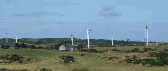 Anglesey Wind farm