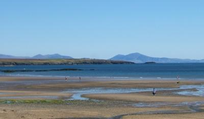 Mountains from Rhosneigr Beach