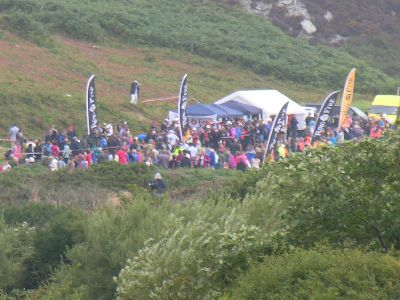 Will and Kate start Ring O'Fire ultra marathon, Holyhead, Anglesey