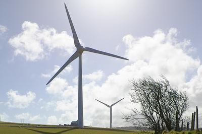 Ysgellog Farm WInd Turbine, Rhosgoch, Anglesey