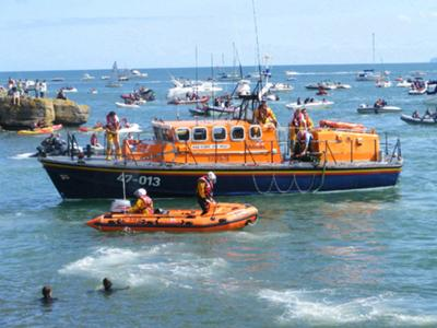 RNLI Lifeboats,  Moelfre Harbour