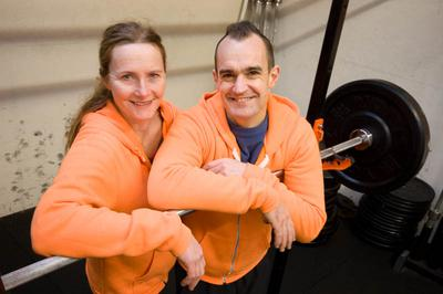 Susie and Phil Brown, The CrossFit Place