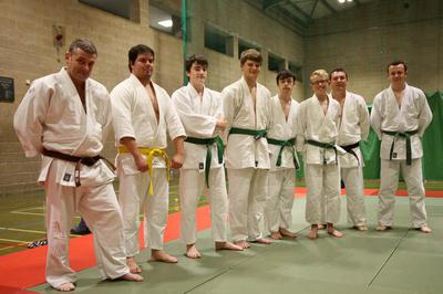 Senior section at the Judo Club